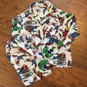 Marvel Button Up Pajama Set by Pottery Barn Kids